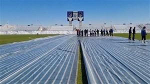 استادیوم آماده دیدار ماشین سازی و نفت مسجدسلیمان