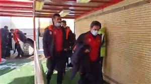 ورود بازیکنان شهرخودرو و تراکتور به ورزشگاه یادگار امام
