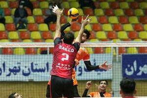 لیگ والیبال؛ پیروزی فولاد سیرجان و شهرداری ورامین