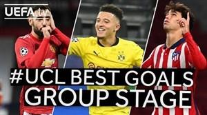 برترین گلهای مرحله گروهی لیگ قهرمانان اروپا