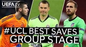 برترین سیوهای مرحله گروهی لیگ قهرمانان اروپا