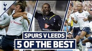 5 گل برتر تاتنهام در مقابل لیدز