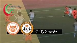 خلاصه بازی قشقایی شیراز 1 - مس کرمان 1