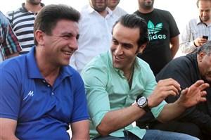 نظر قلعه نویی در مورد کاندیداتوری علی کریمی ؛ من موافقم