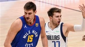 خلاصه بسکتبال دنور ناگتس - دالاس ماوریکس