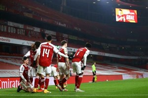 صعود دشوار آرسنال به دور چهارم FA Cup (عکس)