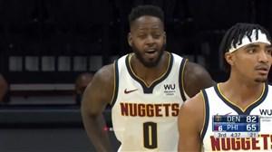 خلاصه بسکتبال فیلادلفیا - دنور ناگتس