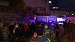 اعتراض شدید هواداران مقابل اتوبوس نساجی