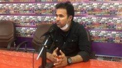 نشست خبری محمد نصرتی بعد از دیدار با مس کرمان