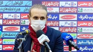 کنفرانس خبری گل محمدی پس از دربی پایتخت
