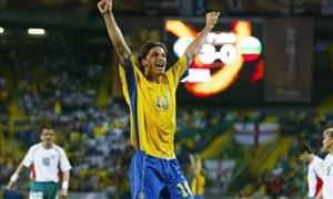 برد پر گل سوئد در جام ملت ها با درخشش زلاتان