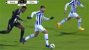 پاس گل مهدی طارمی در دیدار پورتو مقابل ناسیونال