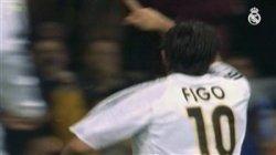فیگو ستارهی افسانه ای در رئال مادرید