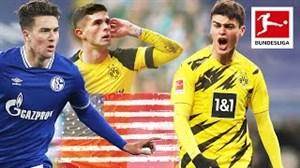 برترین گلهای بازیکنان امریکایی در بوندسلیگا