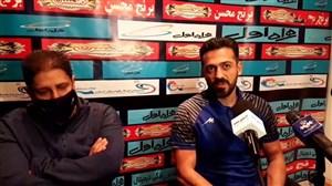 نشست خبری سعید الهویی مربی گل گهرسیرجان