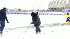 لالیگا برفی میشود!