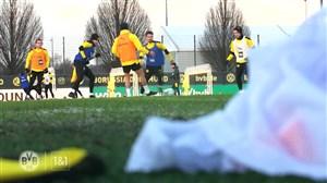 تمرینات آماده سازی بازیکنان دورتموند