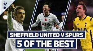 برترین گل های تاتنهام مقابل شفیلد یونایتد