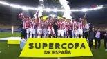 مراسم اهدای جام قهرمانی سوپرکاپ اسپانیا به بیلبائو