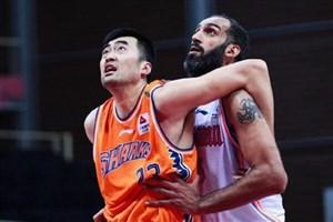 شکست حدادی و هم تیمیهایش در لیگ بسکتبال چین