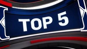 پنج حرکت برتر NBA در شب گذشته