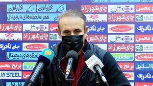 کنفرانس خبری گل محمدی پس از دیدار با فولاد