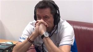 واکنش های توماس رونسرو به حذف تاریخی رئال مادرید