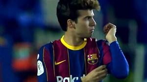 بازیسازی خوب ریکی پویچ برای بارسلونا مقابل کرنیا