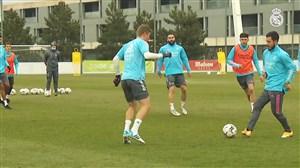 تمرینات آماده سازی رئال مادرید برای دیدار با آلاوس