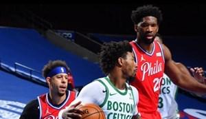 خلاصه بسکتبال فیلادلفیا سیکسرز - بوستون سلتیکس