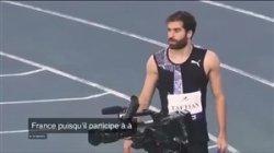 قهرمانی حسن تفتیان در دوی 60 متر مسابقات بین المللی میراماس فرانسه