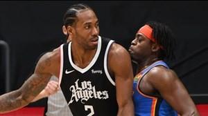 خلاصه بسکتبال لس آنجلس کلیپرز - اوکلاهاماسیتی