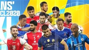 حضور 6 بازیکن پرسپولیس در تیم منتخب لیگ قهرمانان آسیا
