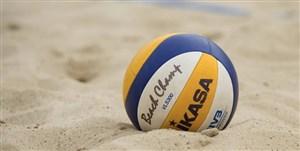 اردوی تیم ملی والیبال ساحلی تعطیل شد