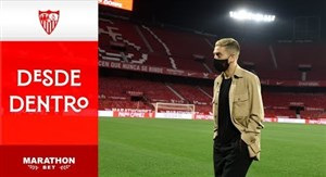 اولین روز حضور پاپو گومز در باشگاه سویا