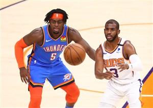 خلاصه بسکتبال فینیکس سانز - اوکلاهما سیتی تاندر