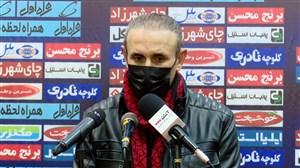 گل محمدی: اتفاقات پایان بازی زیبنده دو تیم نبود