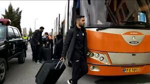ورود بازیکنان سایپا به ورزشگاه امام خمینی