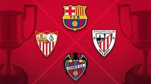سویا-بارسلونا؛ بازی بزرگ نیمه نهایی کوپا دل ری