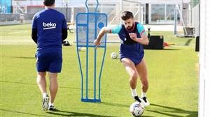 وضعیت 2 مدافع مصدوم بارسلونا برای بازی با PSG