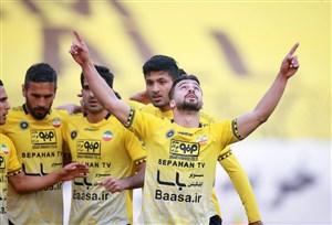 سروش رفیعی، بهترین بازیکن جدال اصفهان