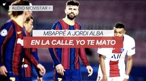 باورنکردنی؛ امباپه بازیکن بارسلونا را تهدید به قتل کرد! (عکس)