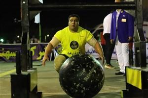 رونمایی از قویترین مرد ایران در نقطه صفرمرزی(عکس)