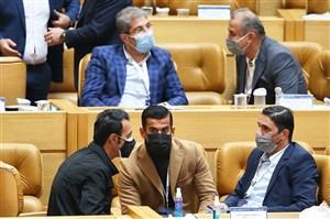 خلوت فوتبالیها در حساسترین انتخابات ورزشی (عکس)