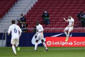 اتلتیکو ۱-۱ رئال مادرید؛کریم ناجی همزمان رئال و بارسا