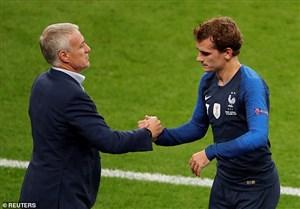 آینده گریزمان در تیم ملی فرانسه در خطر نیست