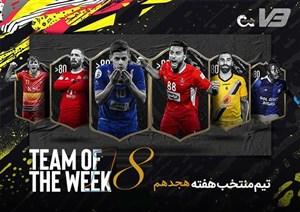 تیم منتخب هفته هجدهم لیگ برتر