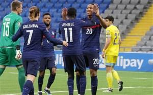 قزاقستان 0-2 فرانسه؛ پیروزی راحت خروس ها