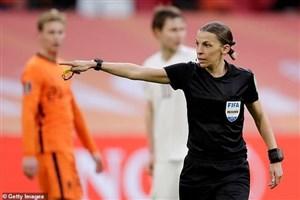 فراپارت اولین داور وسط زن بازیهای جام جهانی (عکس)
