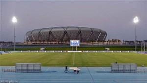 ورزشگاه ملک عبدالله، آماده استقلال- الاهلی(عکس)